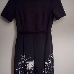Elie Tahari Black Mini Cocktail Dress. Size 8